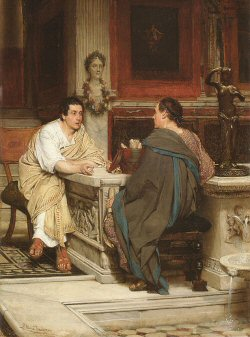 The Discourse, by Sir Lawrence Alma-Tadema
